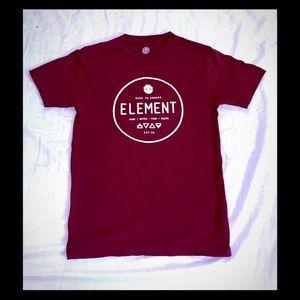 Men's small element tee shirt